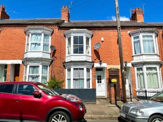 4 bed terraced house for sale in Barclay Street, Leicester, Leicestershire, England LE3