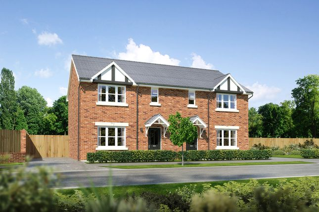 """Thumbnail Semi-detached house for sale in """"Caplewood"""" at Palladian Gardens, Hooton Road, Hooton"""