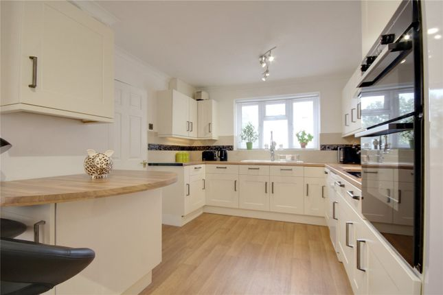 Thumbnail End terrace house for sale in Orchard Way, Addlestone, Surrey