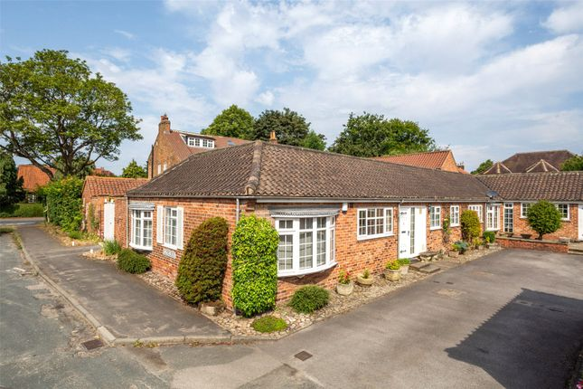 Thumbnail Terraced bungalow for sale in Fulford Mews, Fulford, York
