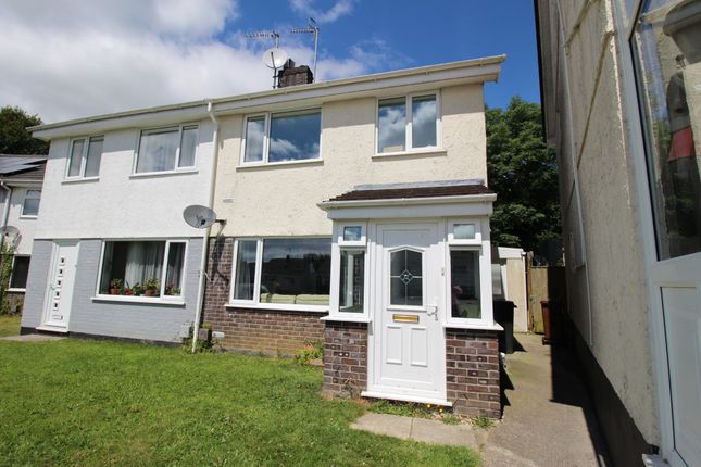 Thumbnail Semi-detached house for sale in Torre Close, Ivybridge