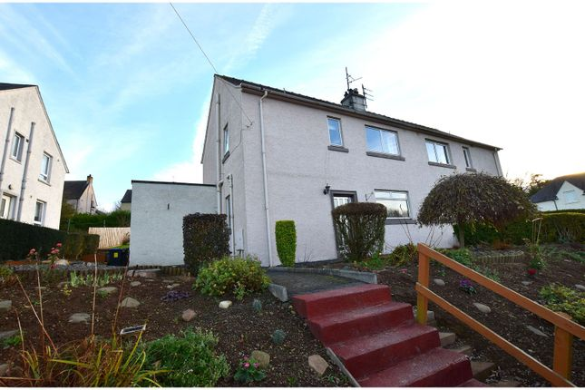 Thumbnail Semi-detached house for sale in Priors Walk, Melrose