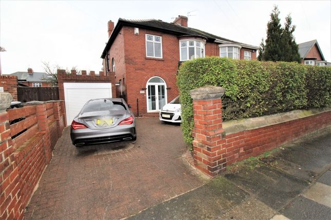 Thumbnail Semi-detached house for sale in Victoria Road West, Hebburn