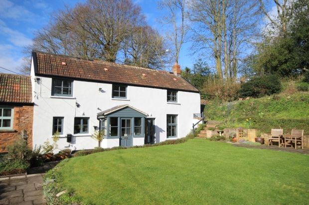 Thumbnail Cottage for sale in Coombe, West Monkton, Taunton