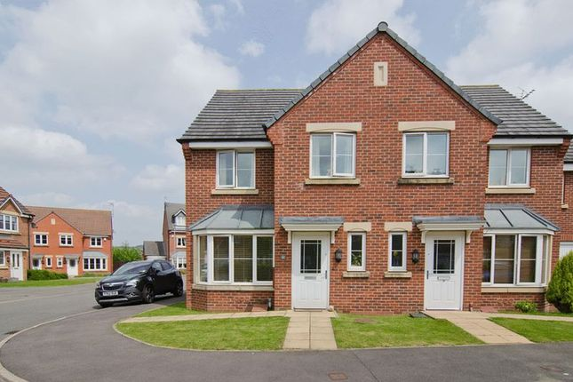 Thumbnail Semi-detached house for sale in King Cup Drive, Huntington, Cannock