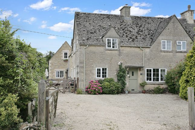 Thumbnail End terrace house for sale in West End, Shilton, Burford