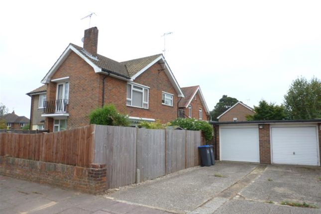 Thumbnail Flat for sale in Burford Close, Worthing, West Sussex