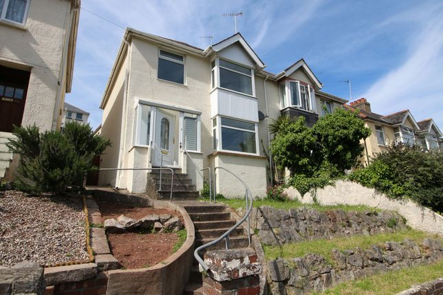 Thumbnail Semi-detached house to rent in Colley End Road, Paignton, Devon