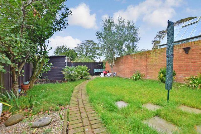 Rear Garden of St. Leonards Road, Hythe, Kent CT21