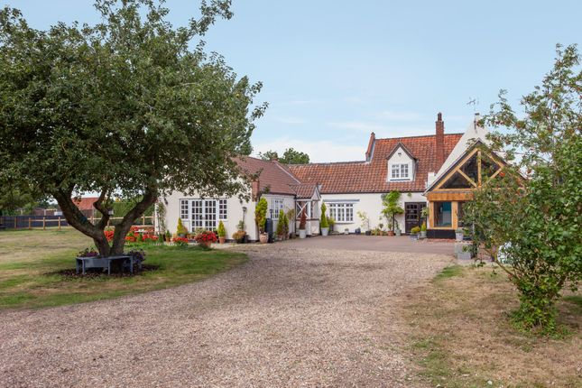 Thumbnail Semi-detached house for sale in Pirnhow Street, Ditchingham, Bungay