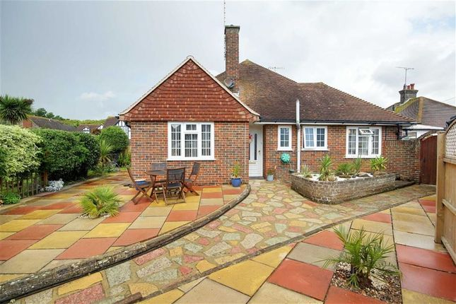 Thumbnail Semi-detached bungalow for sale in Alinora Crescent, Goring-By-Sea, West Sussex