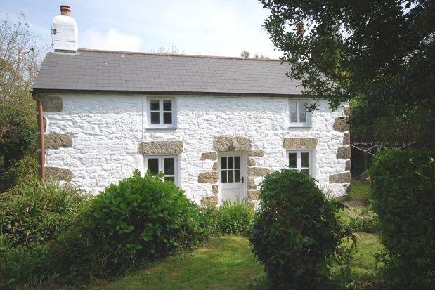 Thumbnail Cottage to rent in Praze Road, Leedstown, Hayle