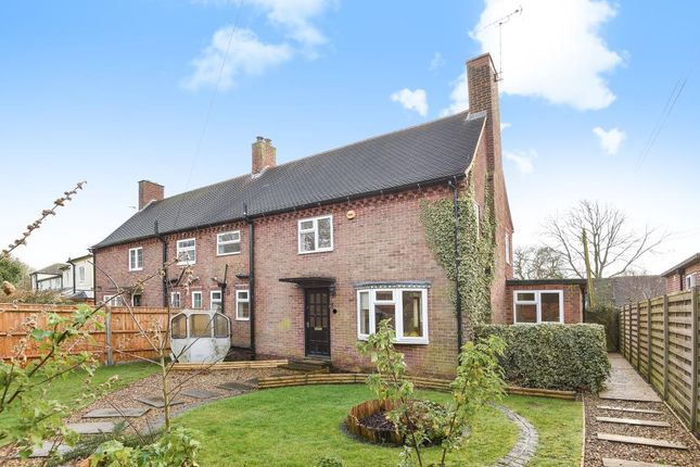 Thumbnail Semi Detached House To Rent In Church View Stoke Row Oxon