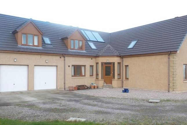 Thumbnail Detached house for sale in Upper Hempriggs, Kinloss, Forres