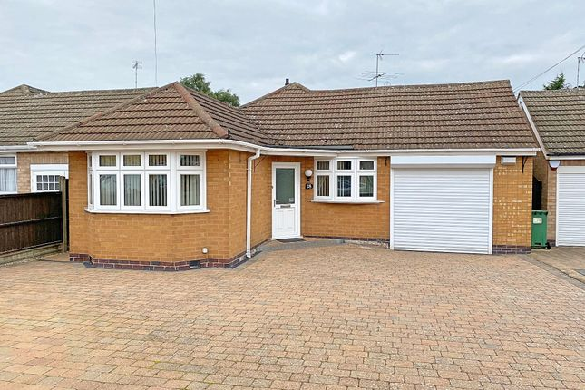Thumbnail Detached bungalow for sale in Thirlmere Road, Wigston