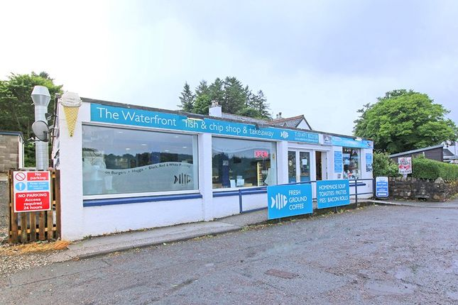 Thumbnail Restaurant/cafe for sale in The Waterfront Fish And Chip Shop, Takeaway, And Leased Gift Shop, Shore Road, Broadford, Isle Of Skye