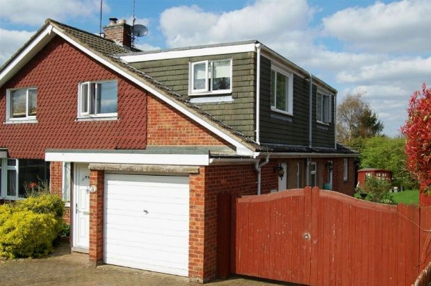 Thumbnail Semi-detached house for sale in St Marys Way, Weedon, Northampton