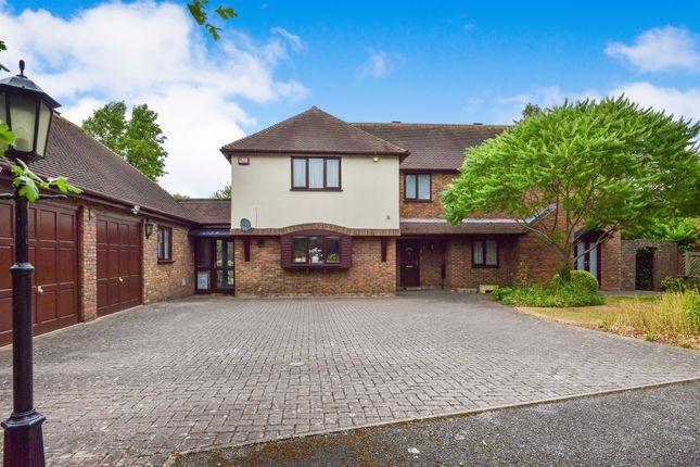 Thumbnail Detached house for sale in Edy Court, Loughton, Milton Keynes