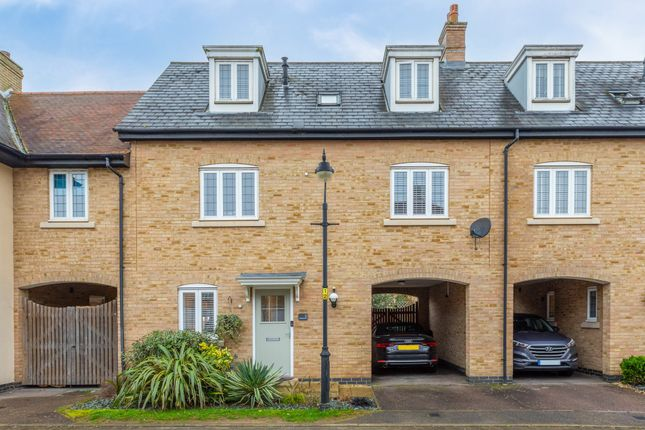 Thumbnail Terraced house for sale in Palmerston Way, Fairfield, Hitchin, Herts