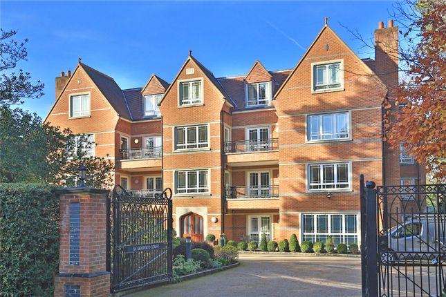 Thumbnail Flat for sale in St. George's Court, Cavendish Road, Weybridge, Surrey