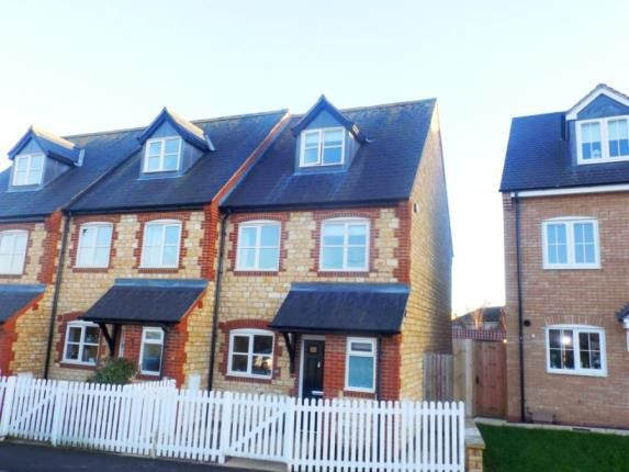 Thumbnail End terrace house for sale in Easton Lane, Bozeat, Wellingborough
