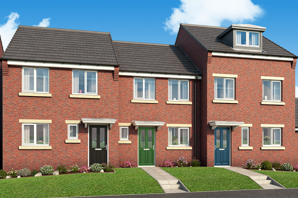 "Thumbnail Property for sale in ""The Normanby At Derwent Heights"" at Off Ravensworth Road, Dunston"
