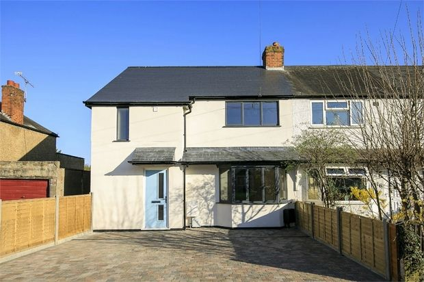 Thumbnail End terrace house for sale in Dean Road, Hampton, Middlesex