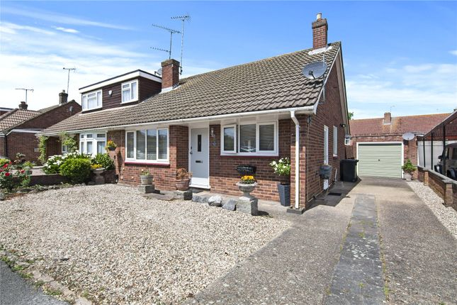 2 bed bungalow for sale in Knights Walk, Abridge, Romford RM4