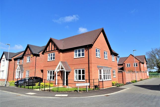 Thumbnail Detached house for sale in Pollards Road, Anstey, Leicester