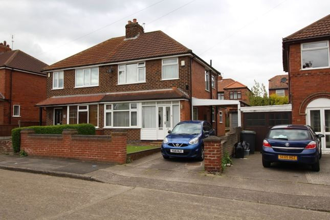 Thumbnail Semi-detached house to rent in Collingwood Avenue, York