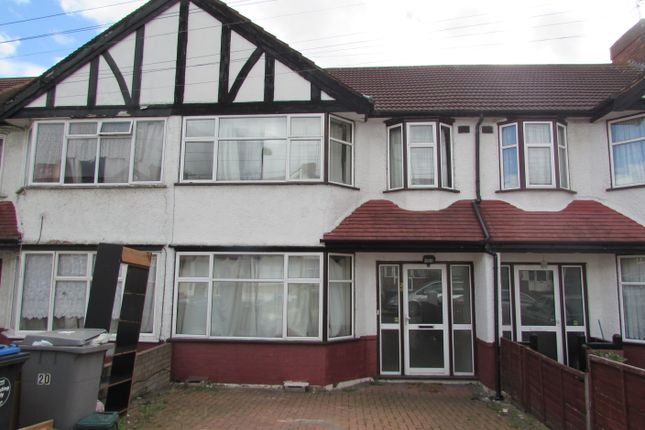 Thumbnail Terraced house for sale in Rowley Close, Wembley