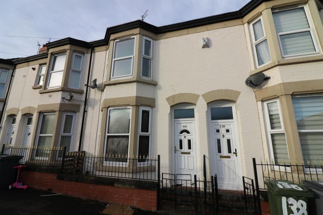 Thumbnail Terraced house for sale in Craven Street, Birkenhead