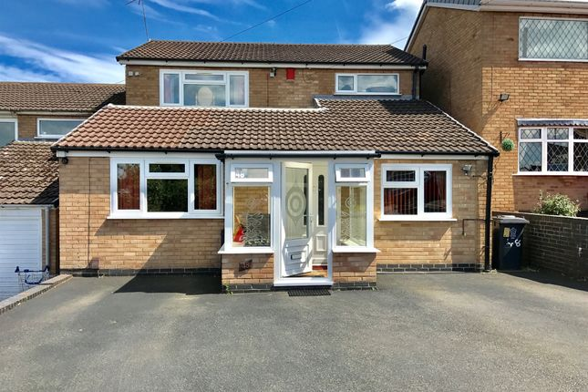 Thumbnail Detached house for sale in Darlington Road, Leicester