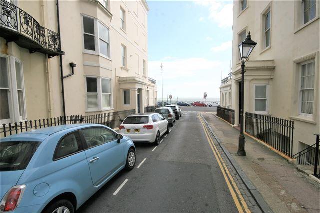 View To Sea of Marine Parade, Brighton BN2