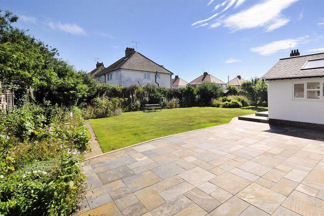 Rear Garden of Courtlands Way, Worthing BN11
