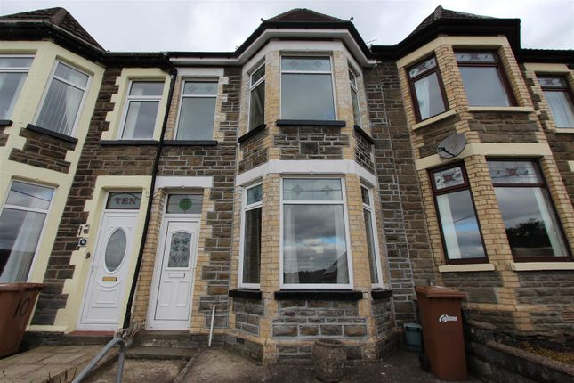 Thumbnail Terraced house for sale in Park Crescent, Bargoed