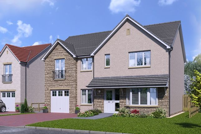Thumbnail 5 bed detached house for sale in Plot 10 Galloway, Silver Glen, Alva, Stirling