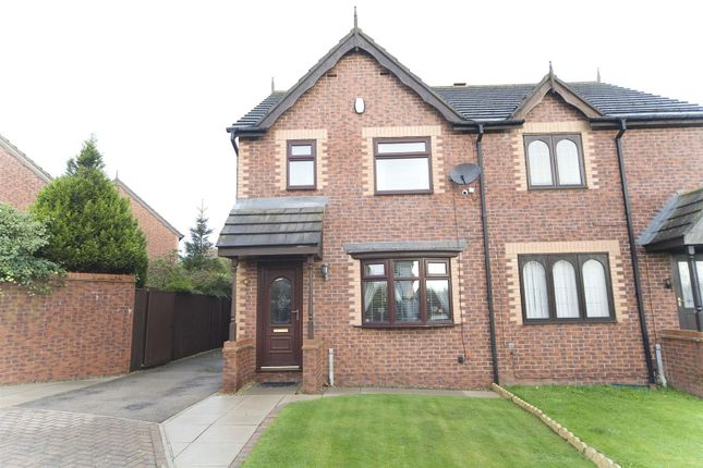 3 bed semi-detached house for sale in Bunting Close, Hartlepool TS26