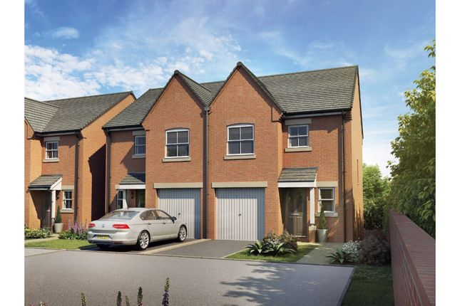 Thumbnail Semi-detached house for sale in Bridgefold Development, Rochdale