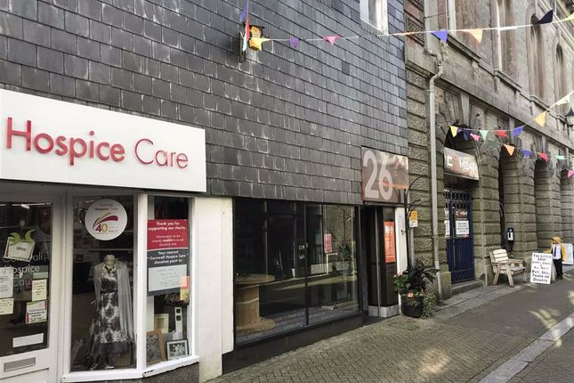 Thumbnail Retail premises to let in 26, Fore Street, Liskeard, Cornwall