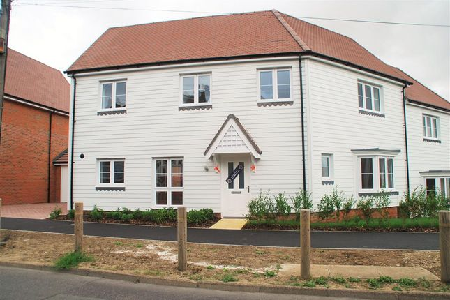Thumbnail Semi-detached house to rent in Bells Lane, Hoo, Rochester