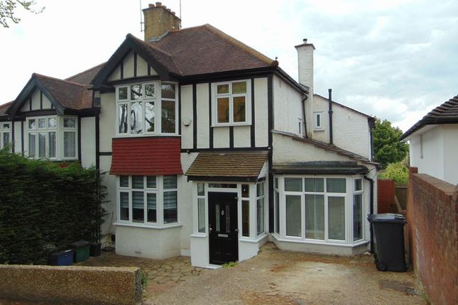 Thumbnail Semi-detached house to rent in The Drive, Coulsdon