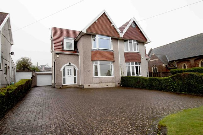 Thumbnail Semi-detached house to rent in Gower Road, Swansea