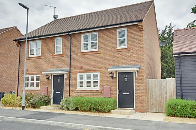 Thumbnail Semi-detached house for sale in Terlings Avenue, Gilston, Harlow, Hertfordshire