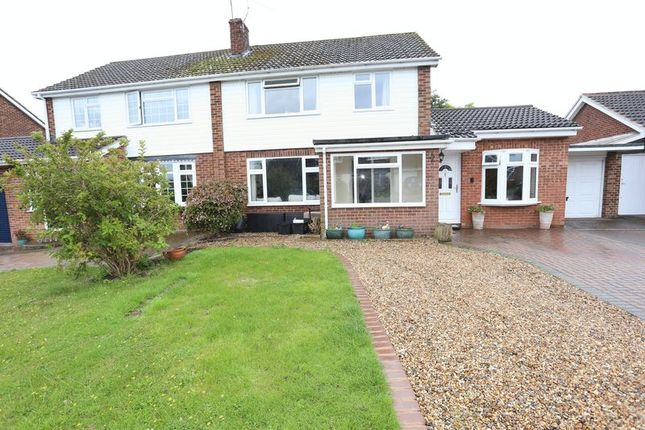 Thumbnail Terraced house to rent in Lavenham Drive, Woodley, Reading