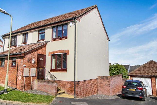 Thumbnail Semi-detached house for sale in Soloman Drive, Bideford