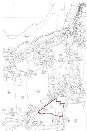 Thumbnail Land for sale in Gwastad Lane, Upper Borth, Ceredigion
