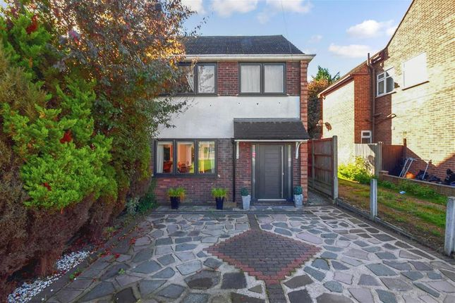 Thumbnail Semi-detached house for sale in Queenswood Avenue, Hutton, Brentwood, Essex