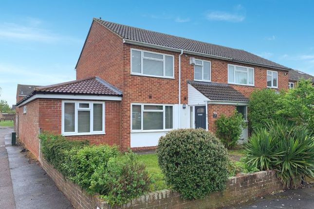 Thumbnail Semi-detached house for sale in Nuffield Close, Bicester