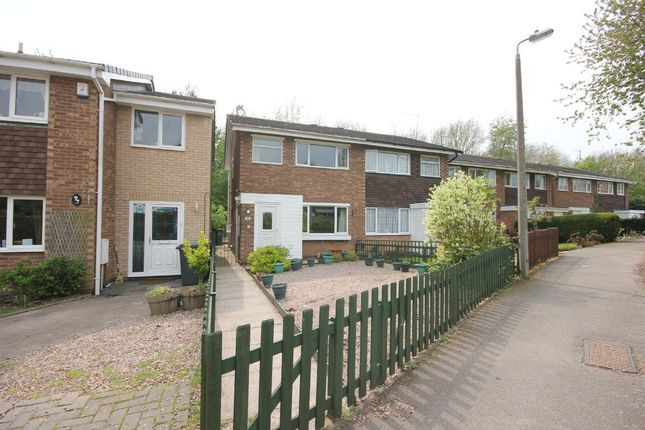 Thumbnail Terraced house to rent in Donnington Close, Redditch